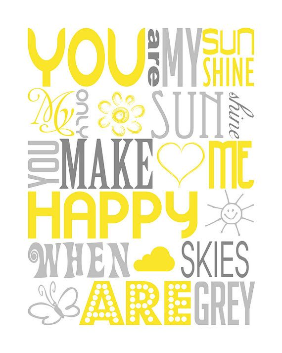 image about You Are My Sunshine Printable named On your own Are My Sunlight Arrows Archers